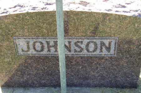 JOHNSON, FAMILY STONE - Codington County, South Dakota | FAMILY STONE JOHNSON - South Dakota Gravestone Photos