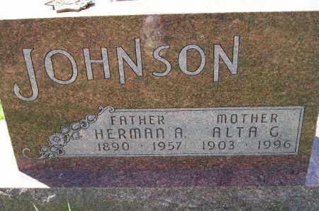 JOHNSON, ALTA G. - Codington County, South Dakota   ALTA G. JOHNSON - South Dakota Gravestone Photos