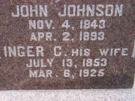 JOHNSON, INGER C. - Codington County, South Dakota   INGER C. JOHNSON - South Dakota Gravestone Photos