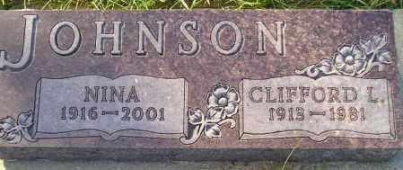 JOHNSON, CLIFFORD L. - Codington County, South Dakota | CLIFFORD L. JOHNSON - South Dakota Gravestone Photos