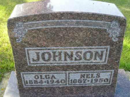 LARSON JOHNSON, OLGA CHRISTINEA - Codington County, South Dakota | OLGA CHRISTINEA LARSON JOHNSON - South Dakota Gravestone Photos