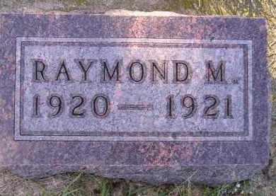 JOHNSON, RAYMOND M. - Codington County, South Dakota | RAYMOND M. JOHNSON - South Dakota Gravestone Photos
