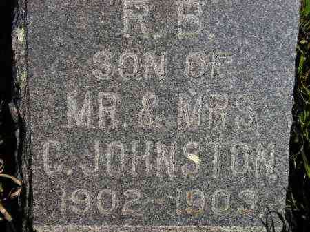 JOHNSTON, ROBERT BRUCE - Codington County, South Dakota   ROBERT BRUCE JOHNSTON - South Dakota Gravestone Photos