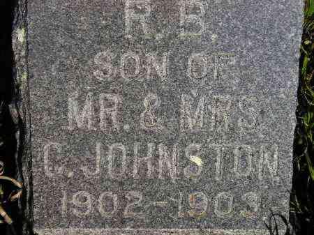 JOHNSTON, ROBERT BRUCE - Codington County, South Dakota | ROBERT BRUCE JOHNSTON - South Dakota Gravestone Photos