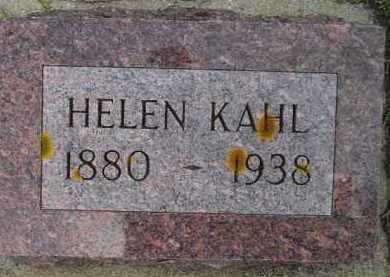 KAHL, HELEN BERTHA - Codington County, South Dakota | HELEN BERTHA KAHL - South Dakota Gravestone Photos