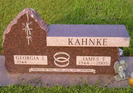 KAHNKE, JAMES T. - Codington County, South Dakota | JAMES T. KAHNKE - South Dakota Gravestone Photos