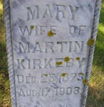 KIRKEBY, MARY - Codington County, South Dakota | MARY KIRKEBY - South Dakota Gravestone Photos