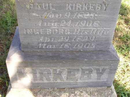 KIRKEBY, PAUL - Codington County, South Dakota | PAUL KIRKEBY - South Dakota Gravestone Photos