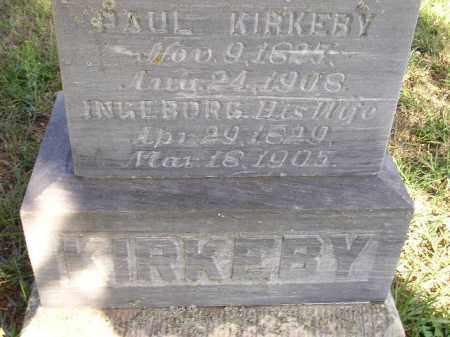 KIRKEBY, PAUL - Codington County, South Dakota | PAUL KIRKEBY - South Dakota Gravestone Photos