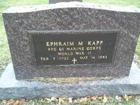 "KNAPP, EPHRAIM M ""MILITARY"" - Codington County, South Dakota 