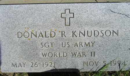 KNUDSON, DONALD R. - Codington County, South Dakota | DONALD R. KNUDSON - South Dakota Gravestone Photos
