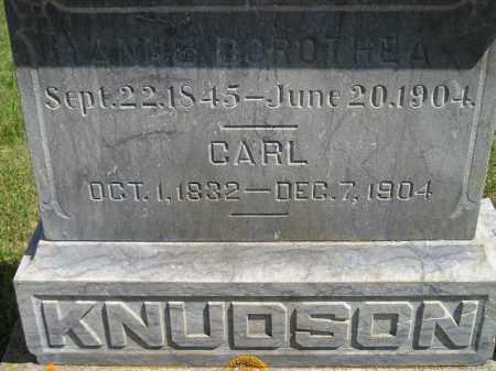 KNUDSON, CARL - Codington County, South Dakota | CARL KNUDSON - South Dakota Gravestone Photos