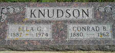 KNUDSON, ELLA GRESILDA - Codington County, South Dakota | ELLA GRESILDA KNUDSON - South Dakota Gravestone Photos