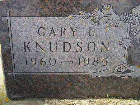 KNUDSON, GARY L. - Codington County, South Dakota | GARY L. KNUDSON - South Dakota Gravestone Photos