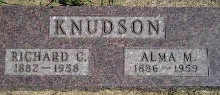 KNUDSON, RICHARD CORNELIUS - Codington County, South Dakota | RICHARD CORNELIUS KNUDSON - South Dakota Gravestone Photos