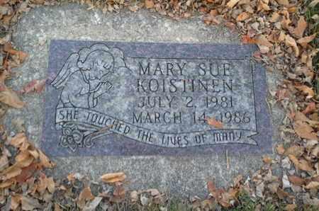 KOISTINEN, MARY SUE - Codington County, South Dakota | MARY SUE KOISTINEN - South Dakota Gravestone Photos
