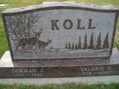 SCHMELING KOLL, VALARIA VALGENE - Codington County, South Dakota | VALARIA VALGENE SCHMELING KOLL - South Dakota Gravestone Photos
