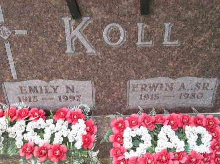KOLL, ERWIN ALBERT SR. - Codington County, South Dakota | ERWIN ALBERT SR. KOLL - South Dakota Gravestone Photos