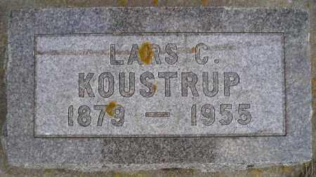 KOUSTRUP, LARS C. - Codington County, South Dakota   LARS C. KOUSTRUP - South Dakota Gravestone Photos