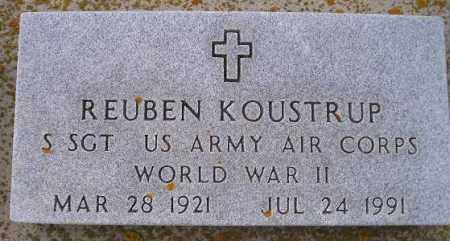 KOUSTRUP, REUBEN (WW II) - Codington County, South Dakota | REUBEN (WW II) KOUSTRUP - South Dakota Gravestone Photos