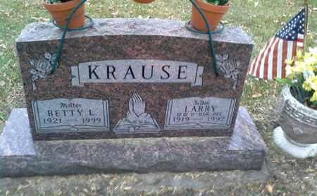 KRAUSE, LARRY - Codington County, South Dakota | LARRY KRAUSE - South Dakota Gravestone Photos