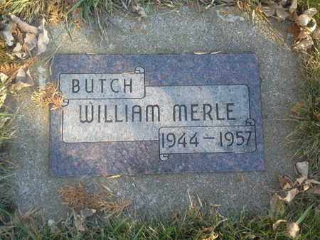 "KRAUSE, WILLIAM MERLE ""BUTCH"" - Codington County, South Dakota   WILLIAM MERLE ""BUTCH"" KRAUSE - South Dakota Gravestone Photos"