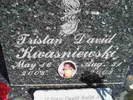 KWASNIEWSKI, TRISTAN DAVID - Codington County, South Dakota | TRISTAN DAVID KWASNIEWSKI - South Dakota Gravestone Photos
