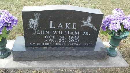 LAKE, JOHN WILLIAM JR - Codington County, South Dakota | JOHN WILLIAM JR LAKE - South Dakota Gravestone Photos