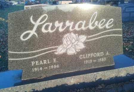 LARRABEE, CLIFFORD A - Codington County, South Dakota | CLIFFORD A LARRABEE - South Dakota Gravestone Photos