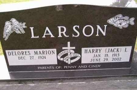 "LARSON, HARRY L. ""JACK"" - Codington County, South Dakota | HARRY L. ""JACK"" LARSON - South Dakota Gravestone Photos"