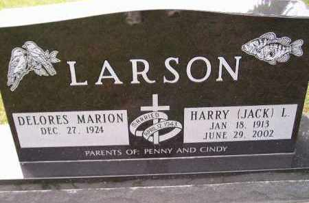 "LARSON, HARRY L. ""JACK"" - Codington County, South Dakota 