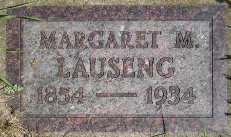LAUSENG, MARGARET M. - Codington County, South Dakota | MARGARET M. LAUSENG - South Dakota Gravestone Photos