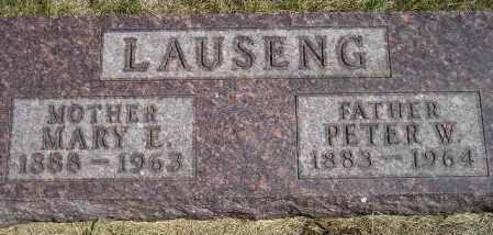 LAUSENG, PETER WESLEY - Codington County, South Dakota | PETER WESLEY LAUSENG - South Dakota Gravestone Photos