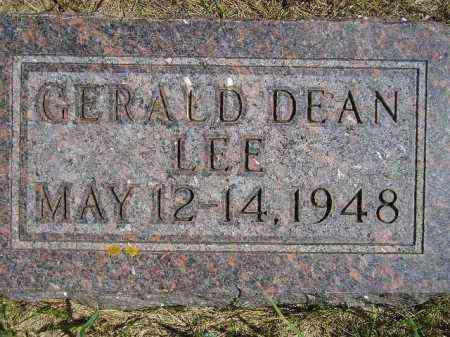 LEE, GERALD DEAN - Codington County, South Dakota | GERALD DEAN LEE - South Dakota Gravestone Photos