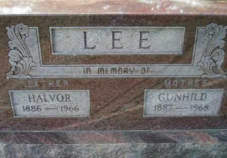 LEE, HALVOR - Codington County, South Dakota | HALVOR LEE - South Dakota Gravestone Photos