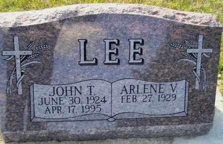 LEE, JOHN T. - Codington County, South Dakota | JOHN T. LEE - South Dakota Gravestone Photos