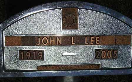 LEE, JOHN L. - Codington County, South Dakota | JOHN L. LEE - South Dakota Gravestone Photos