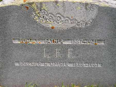 LEE, TOM J. - Codington County, South Dakota   TOM J. LEE - South Dakota Gravestone Photos