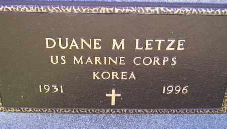 LETZE, DUANE M. (KOREA) - Codington County, South Dakota | DUANE M. (KOREA) LETZE - South Dakota Gravestone Photos