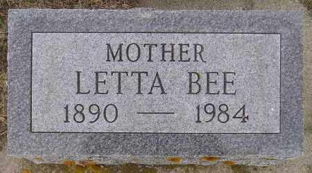 MYERS LINDGREN, LETTA BEE - Codington County, South Dakota | LETTA BEE MYERS LINDGREN - South Dakota Gravestone Photos