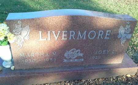 LIVERMORE, MARTHA M - Codington County, South Dakota | MARTHA M LIVERMORE - South Dakota Gravestone Photos
