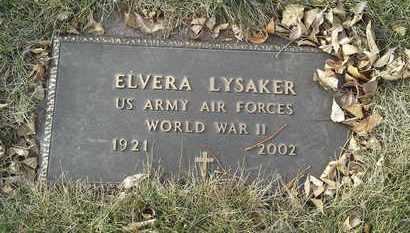 "LYSAKER, ELVERA  ""MILITARY"" - Codington County, South Dakota   ELVERA  ""MILITARY"" LYSAKER - South Dakota Gravestone Photos"