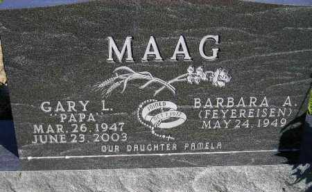 MAAG, BARBARA A. - Codington County, South Dakota | BARBARA A. MAAG - South Dakota Gravestone Photos