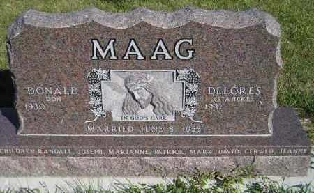 MAAG, DONALD - Codington County, South Dakota | DONALD MAAG - South Dakota Gravestone Photos
