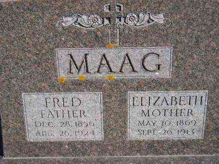 MAAG, ELIZABETH - Codington County, South Dakota | ELIZABETH MAAG - South Dakota Gravestone Photos