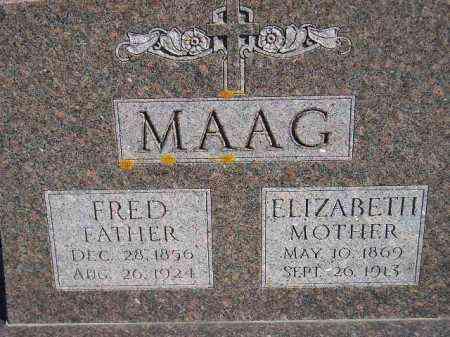 HOVERSTADT MAAG, ELIZABETH - Codington County, South Dakota | ELIZABETH HOVERSTADT MAAG - South Dakota Gravestone Photos