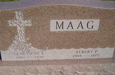 MAAG, GENEVIEVE L. - Codington County, South Dakota | GENEVIEVE L. MAAG - South Dakota Gravestone Photos