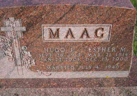 MAAG, ESTHER MARIE - Codington County, South Dakota | ESTHER MARIE MAAG - South Dakota Gravestone Photos