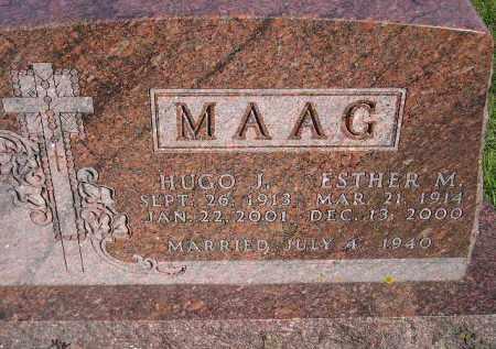 MAAG, HUGO JOHN - Codington County, South Dakota | HUGO JOHN MAAG - South Dakota Gravestone Photos