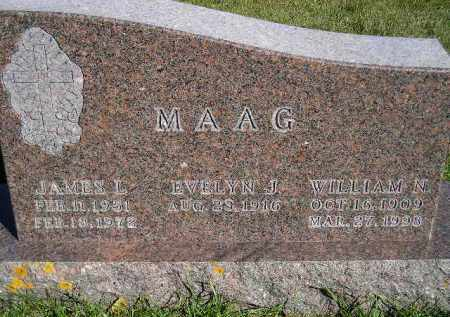 MAAG, JAMES L. - Codington County, South Dakota | JAMES L. MAAG - South Dakota Gravestone Photos